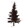 Pine Tree Wall Decal, Vinyl Wall Stickers Art