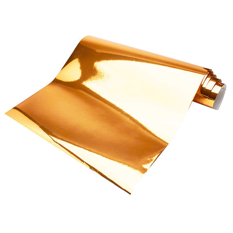 Chrome Mirror Metallic Rose Gold Adhesive DIY Decal Film Decoration