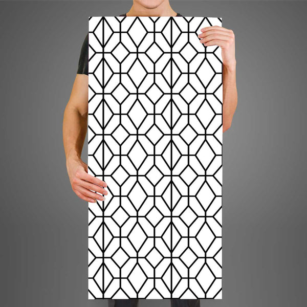 Geometric Modern pattern wallpaper Ritchie, peel and stick wall mural Fabric Wallpaper