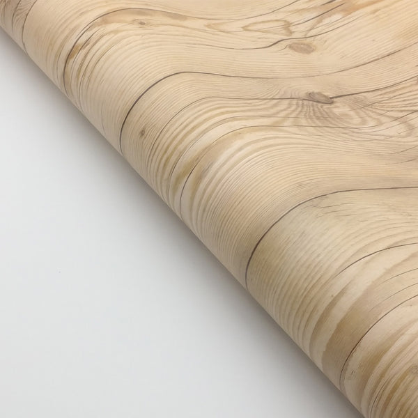 Wood Grain interior paper film Assisi, Easy Peel and Stick Application