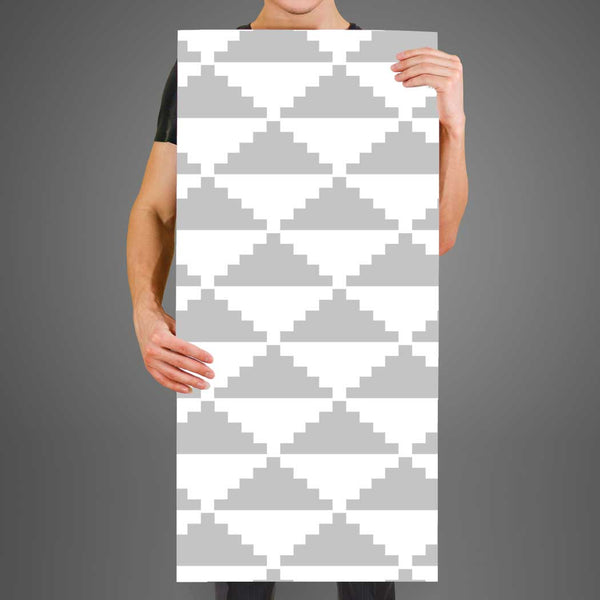 Geometric wallpaper Betty, peel and stick wall mural Fabric Wallpaper