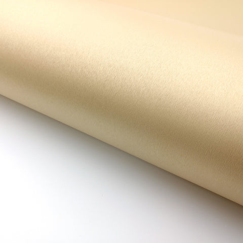 "Brushed Metal Look Contact Paper - Beige Gold, 24"" x 78.7"""