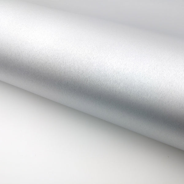 "Peel & Stick Brushed Metallic Contact Paper - Silver, 24"" x 78.7"""