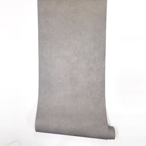 "Cement Look Wallpaper Textured Cullinan 24"" x 78.7"""
