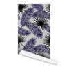 Palm leaves Pattern Alicia Self adhesive Peel and Stick Repositionable Fabric Wallpaper