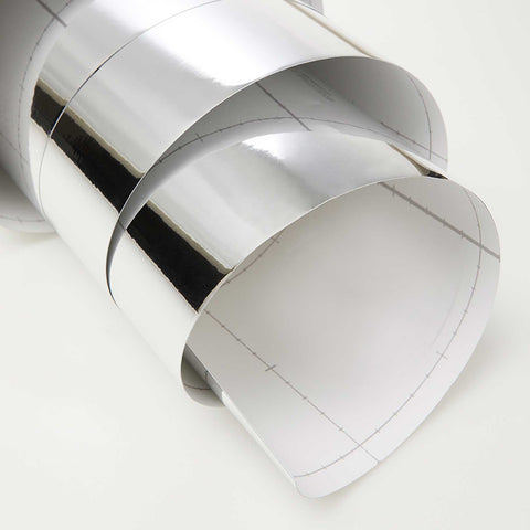 Chrome Mirror Silver Self Adhesive DIY Decal Film Decoration