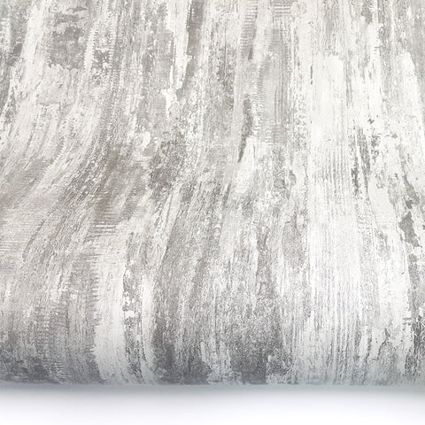 Aged Wood Wallpaper Faded Paint Look Faux Crackle Texture Accra