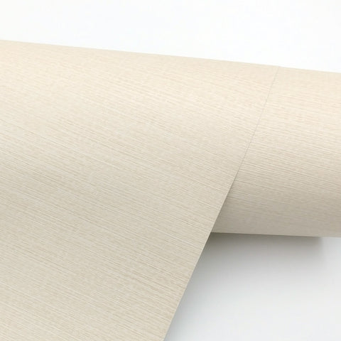 Wallpaper Interior film Self-Adhesive Wall Covering Contans, Simple peel and stick Beige