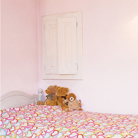 Wallpaper Interior film Self-Adhesive Wall Covering Pink Belle, peel and stick Wallpaper