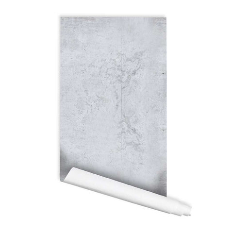 Cement Concrete Self adhesive Peel and Stick Repositionable Fabric Wallpaper