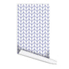 Herringbone Line Peel & Stick Repositionable Fabric Wallpaper