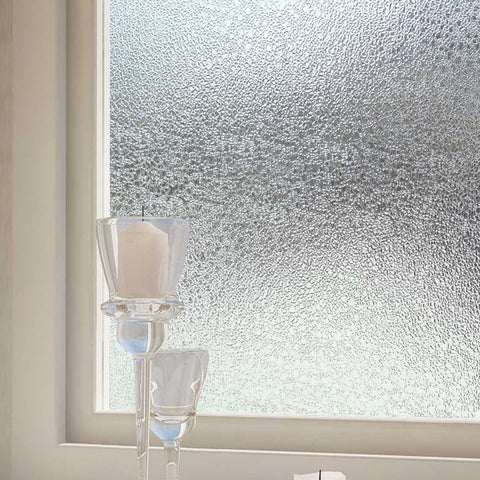 "Privacy No Glue Static Window Film Carmen, UV Blocking Heat Control Privacy Glass 39.3"" x 78.7"""