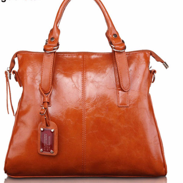 Fashion Women  leather shoulder handbag