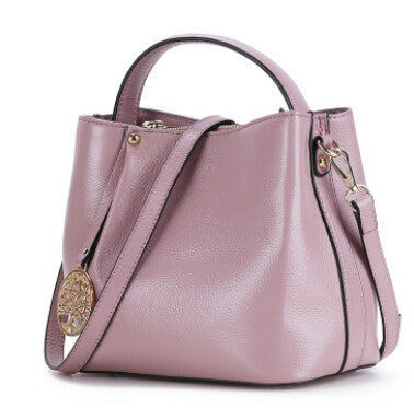 2016 New Women Genuine Leather Shoulder Bag Casual