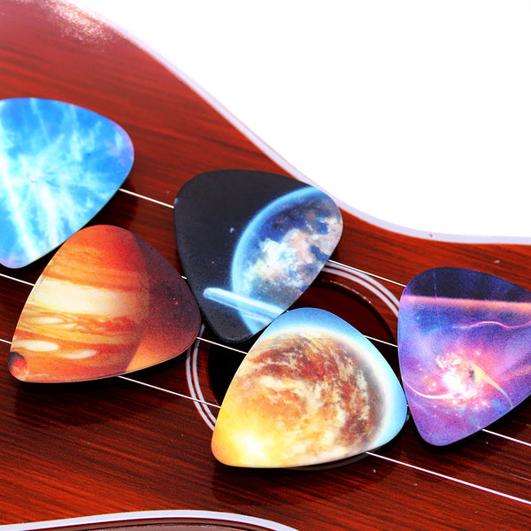 Spacy Guitar Picks - 10 Pcs