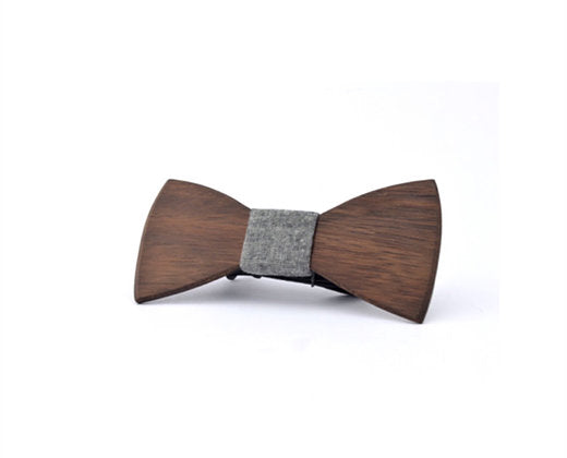 Camden Wooden Bow Tie – Roasted Blackbutt