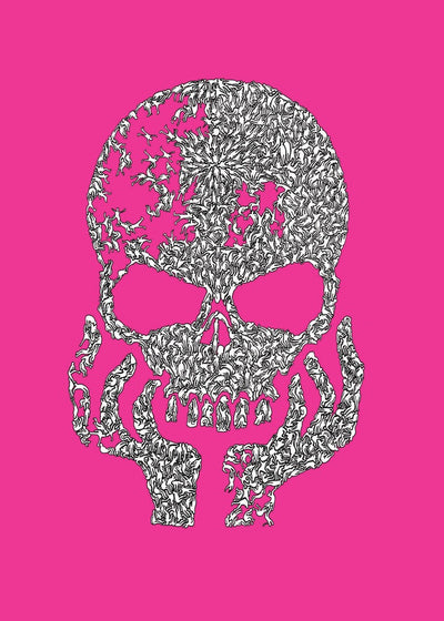 Builtbypeople Skull Silk Screen Limited Edition