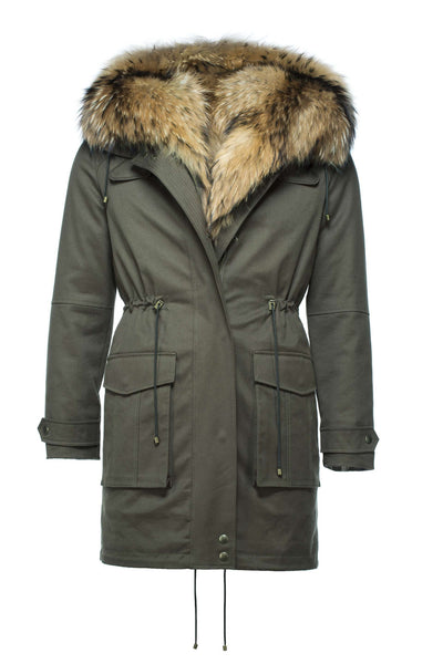 WOMEN's Fin Raccoon Parka