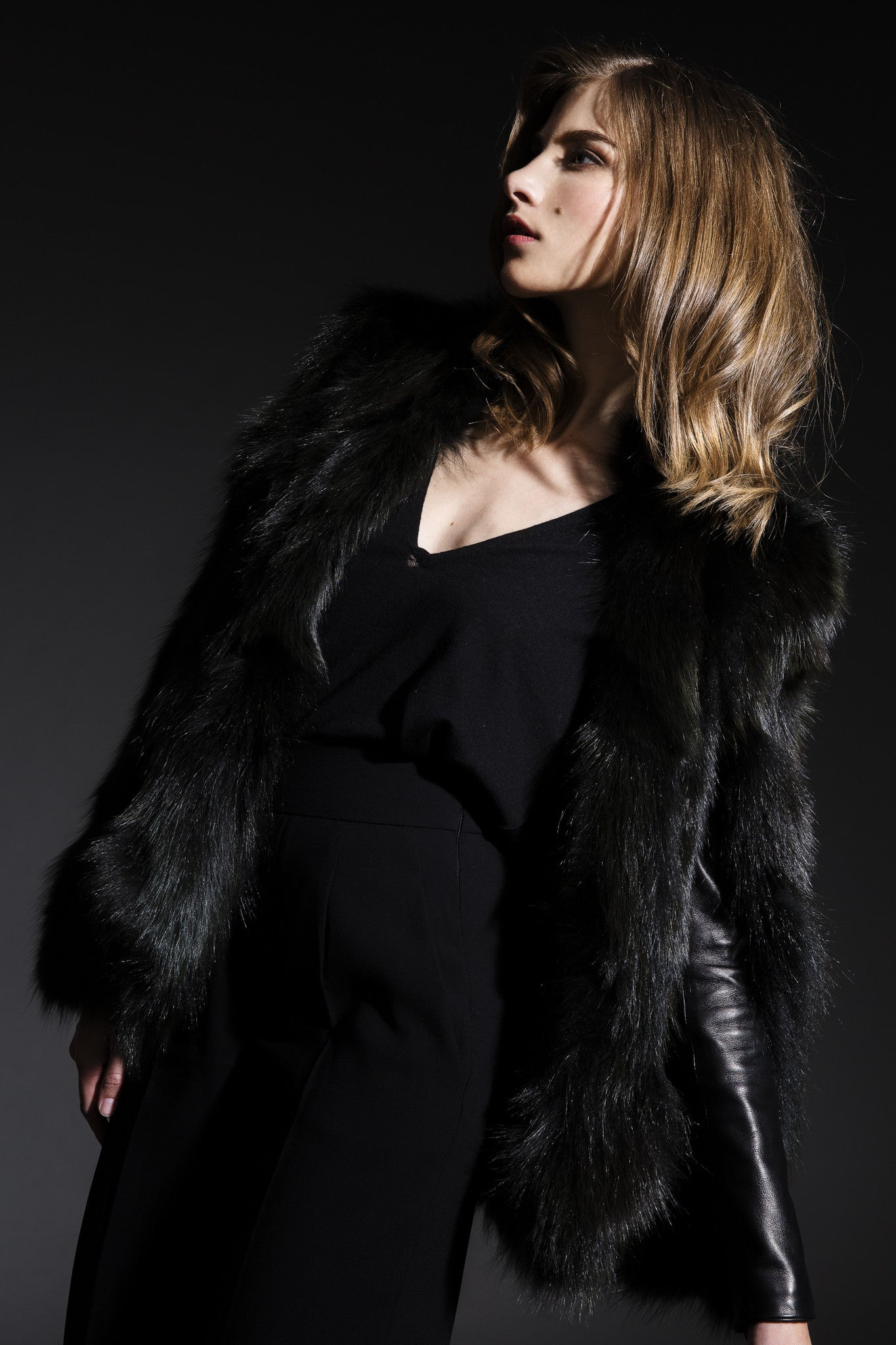 WOMEN's Fox Fur Cape