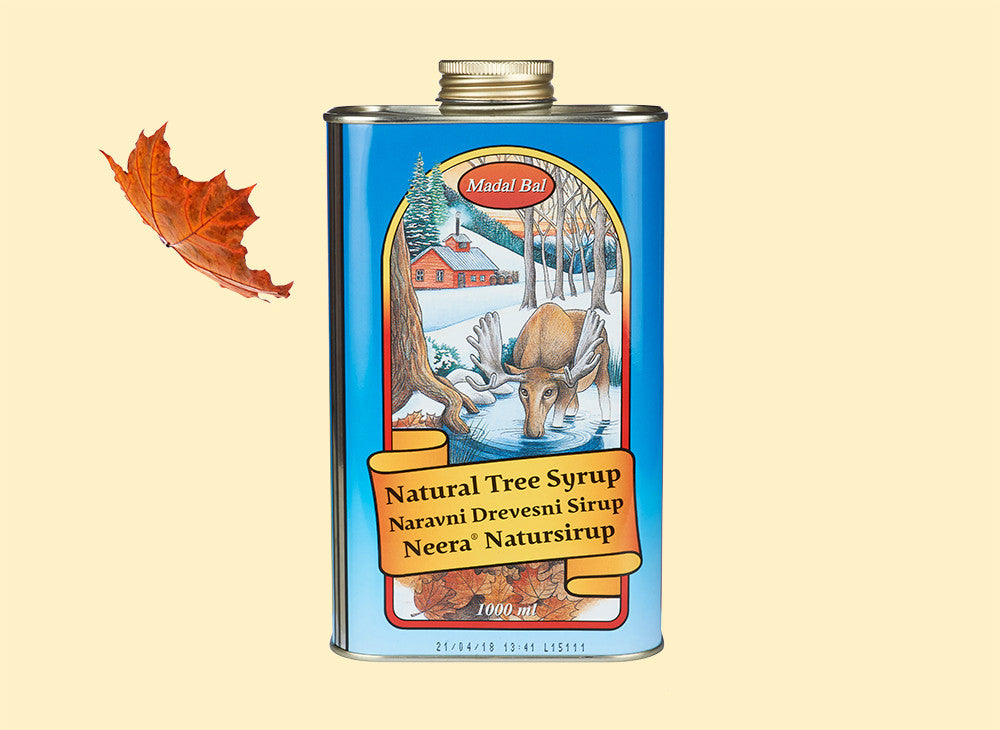 madal bal natural tree syrup product image back one litre
