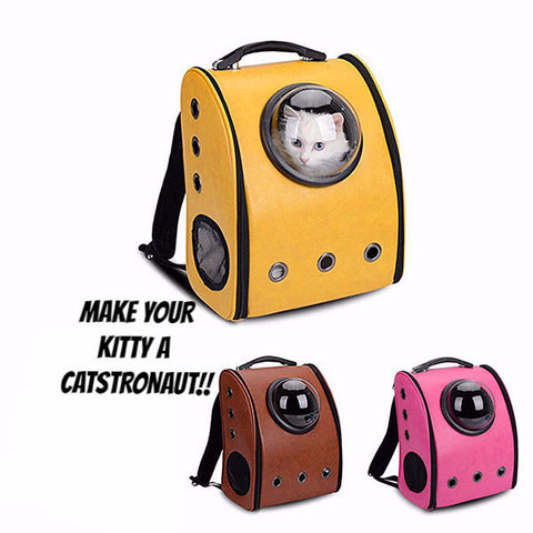 Space Capsule Cat Carrier - Two Stupid Cats