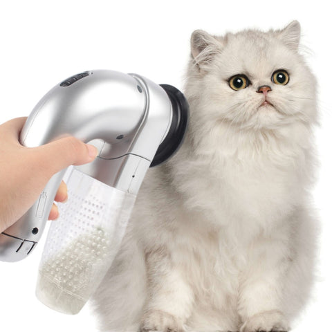 Cat Hair Vacuum - Two Stupid Cats