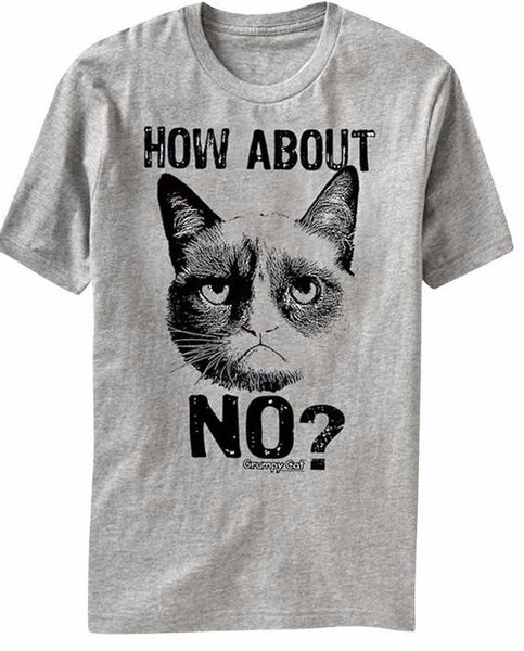No Cat T-Shirt - Two Stupid Cats