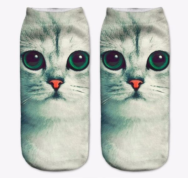 Cute Cat Photoprint Socks Collection I - Two Stupid Cats