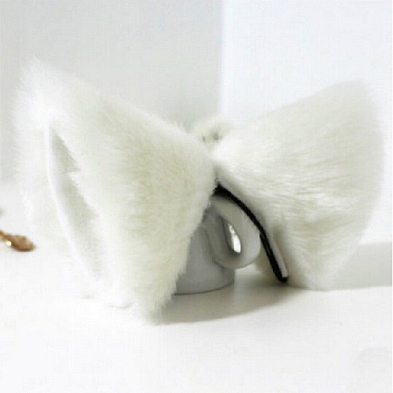 Cat Ears Hair Clip - Two Stupid Cats