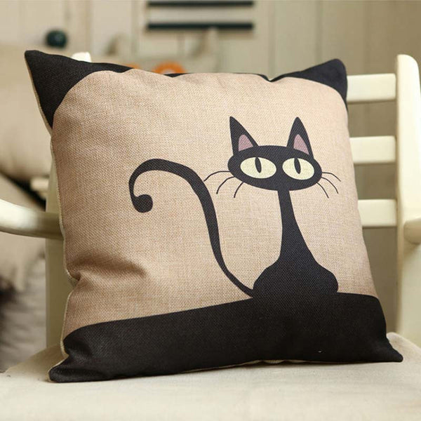 Pop Art  Cat Cushion Covers Collection - Two Stupid Cats