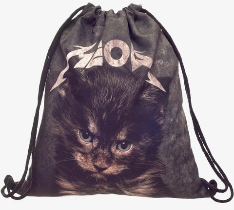 Funny Cat Backpack - Two Stupid Cats
