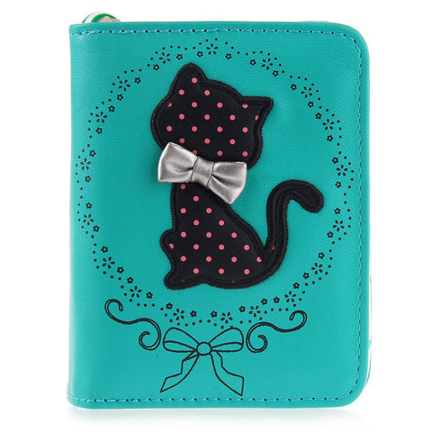 Vintage Chick Cat Wallet - Two Stupid Cats