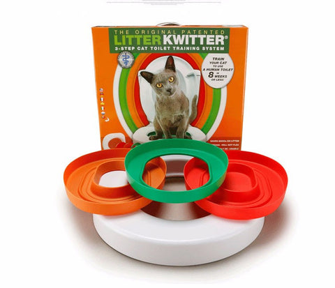 Litter Kwitter Cat Toilet Training - Two Stupid Cats
