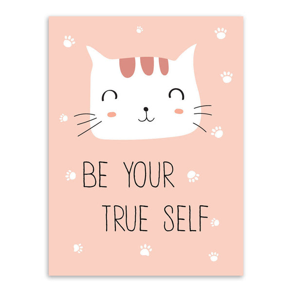 Cute Kids Room Cat Posters - Two Stupid Cats