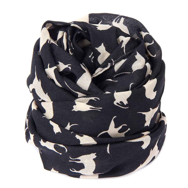 Chiffon Cat Scarf - Two Stupid Cats