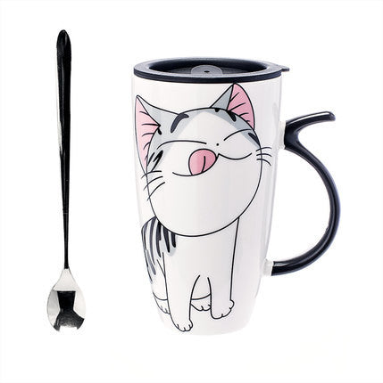 Happy Kitty Mug Collection - Two Stupid Cats