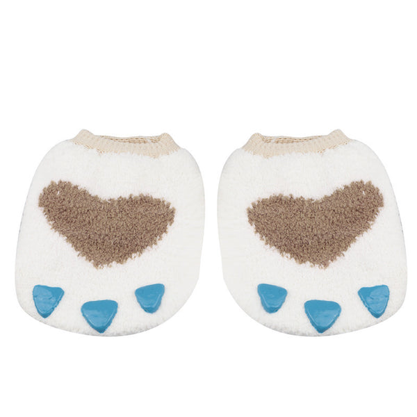 Cute Paw Antislip Baby Socks - Two Stupid Cats