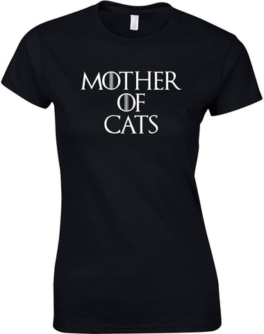 Mother Of Cats T-Shirt - Two Stupid Cats