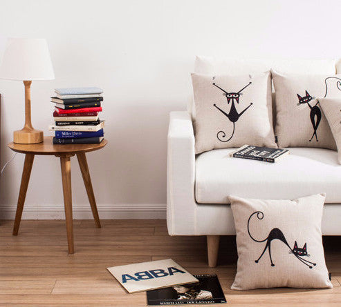 Sassy Cat Cushion Covers Collection - Two Stupid Cats