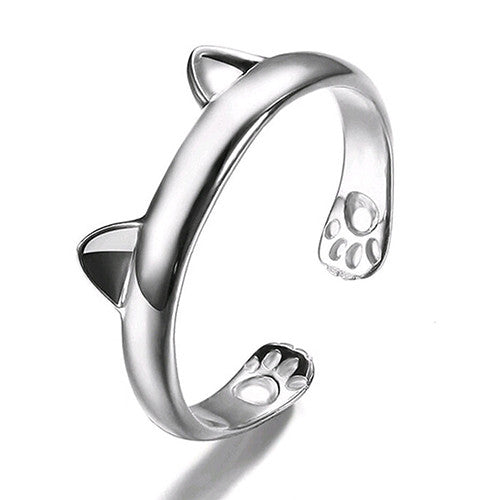 Cat Paws Ear Ring - Two Stupid Cats