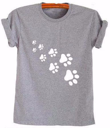 Paws T-Shirt - Two Stupid Cats