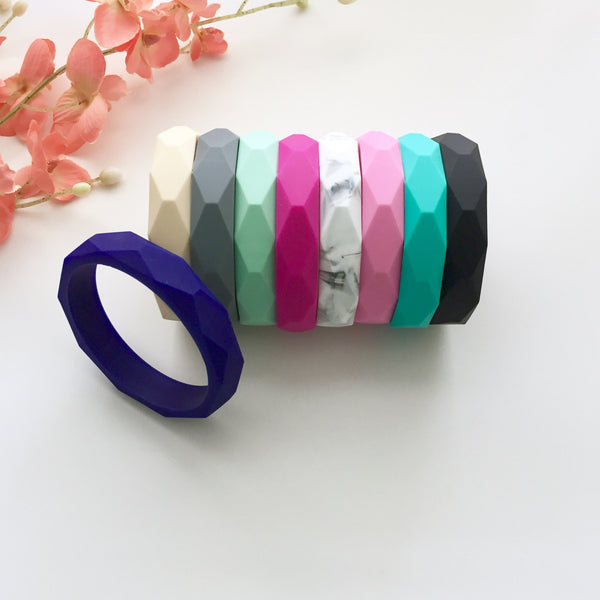The Liv Teething Bangle | 7 color options