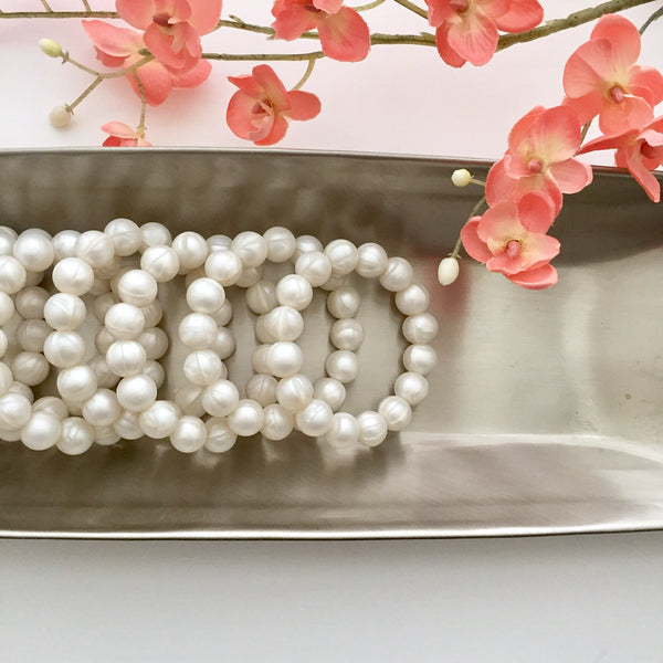 "The Grace ""Pearl"" Teething Bracelet"