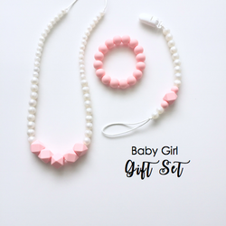 The Elle Pearl + Rose Baby Girl Gift Set