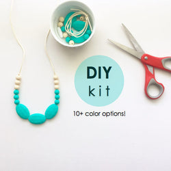 The Lexi DIY Kit -or- Premade | Silicone Necklace | 10+ Options