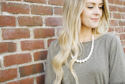 The Audrey Classic Pearl-Look Necklace
