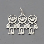 Three Boys Pendant 17 mm