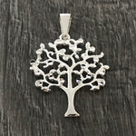Diamond Tree of Life Pendant 27mm