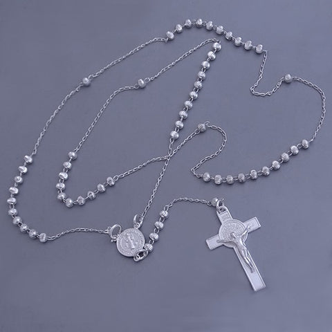 Rosary Necklace 22""