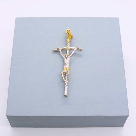 Papal Crucifix Pendant 2""